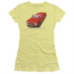 Image of Chevy Juniors Shirt 1962 Corvair Banana T-Shirt