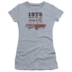 Image of Chevy Juniors Shirt Car Of The Year Sports Grey T-Shirt