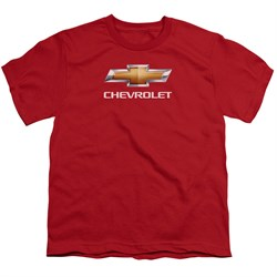 T-Shirt | Chevy | Shirt | Bow | Kid | Tie | Red | Ty