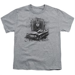 Chevy Kids Shirt Monte Carlo Sports Grey T-Shirt