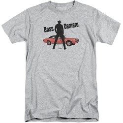 Chevy Shirt Boss Sports Grey Tall T-Shirt