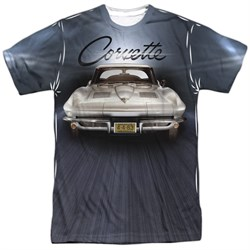 Chevy Shirt Corvette Sting Ray Sublimation Shirt Front/Back Print
