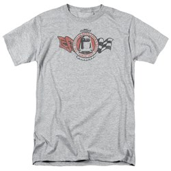 Chevy Shirt Gentlemen's Racer Sports Grey T-Shirt