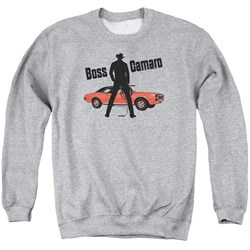 Image of Chevy Sweatshirt Boss Adult Sports Grey Sweat Shirt