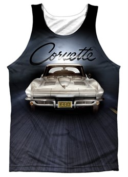 Chevy Tank Top Corvette Sting Ray Sublimation Tanktop Front/Back Print