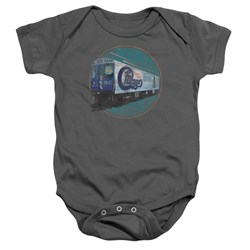 Image of Chicago Baby Romper The Rail Charcoal Infant Babies Creeper