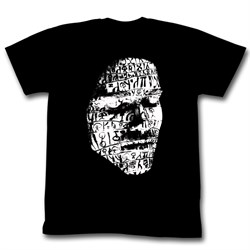 Image of Conan Shirt Draw On My Face Adult Black Tee T-Shirt