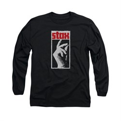 Concord Music Group Shirt Stax Long Sleeve Black Tee T-Shirt