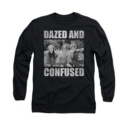 Image of Dazed And Confused Shirt Rock On Long Sleeve Black Tee T-Shirt