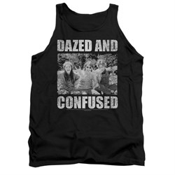 Image of Dazed And Confused Tank Top Rock On Black Tanktop