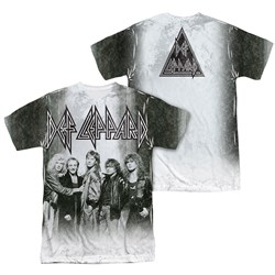 Image of Def Leppard Shirt The Band Sublimation Shirt Front/Back Print