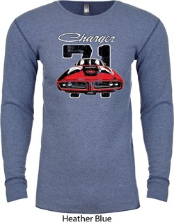Image of Dodge 1971 Charger Long Sleeve Thermal Shirt