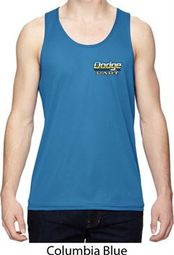Image of Dodge Dart Pocket Print Mens Moisture Wicking Tanktop