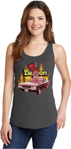 Dodge Demon Ladies Tank Top