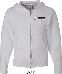 Image of Dodge Hemi Pocket Print Mens Full Zip Hoodie