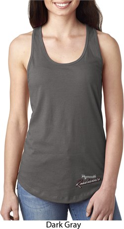 Image of Dodge Plymouth Roadrunner Bottom Print Ladies Ideal Tank Top