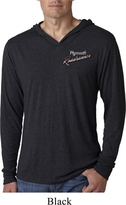 Image of Dodge Plymouth Roadrunner Pocket Print Lightweight Hoodie Shirt