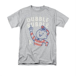 Double Bubble Shirt Pointing Athletic Heather T-Shirt