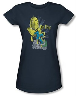 Dr. Fate Juniors T-shirt - DC Comics Indigo Tee
