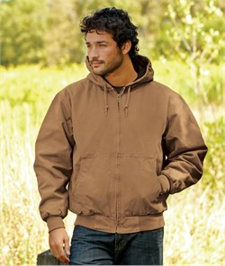Dri Duck Canvas Work Jacket Cheyenne Adult Washed Outerwear