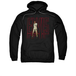 Image of Elvis Presley Hoodie 68 Album Black Sweatshirt Hoody