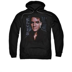 Image of Elvis Presley Hoodie Tough Poster Black Sweatshirt Hoody