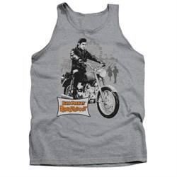 Image of Elvis Presley Shirt Tank Top Roustabout Athletic Heather Tanktop