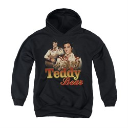 Elvis Presley Youth Hoodie Teddy Bears Black Kids Hoody