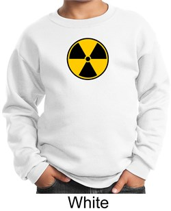 Image of Fallout Sweatshirt Radioactive Radiation Symbol Youth Sweatshirt
