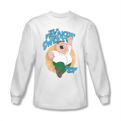 Family Guy Shirt Freakin Sweet Long Sleeve White Tee T-Shirt