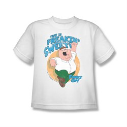 Family Guy Shirt Kids Freakin Sweet White T-Shirt