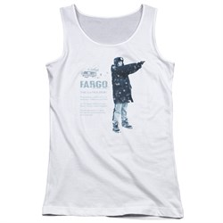 Image of Fargo Juniors Tank Top This Is A True Story White Tanktop