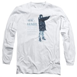 Image of Fargo Long Sleeve Shirt This Is A True Story White Tee T-Shirt