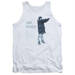 Image of Fargo Tank Top This Is A True Story White Tanktop