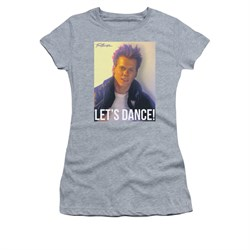 Fight Club Shirt Juniors Lets Dance Athletic Heather Tee T-Shirt
