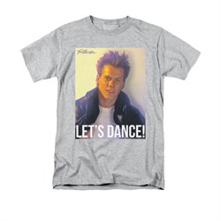 Fight Club Shirt Lets Dance Adult Athletic Heather Tee T-Shirt