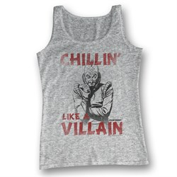 Image of Flash Gordon Tank Top Chillin Like A Villain Athletic Heather Tanktop