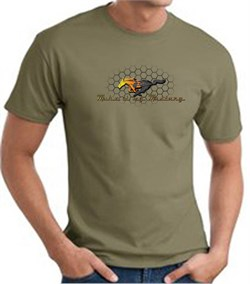 Mustang | T-Shirt | Grill | Green | Shirt | Army | Ford | Tee