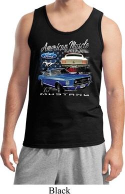 Image of Ford American Muscle 1967 Mustang Mens Tank Top