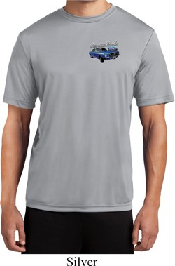 Image of Ford American Muscle 1967 Mustang Pocket Print Mens Dry Wicking Shirt