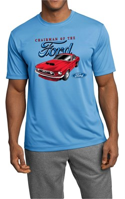 Image of Ford Mustang Mens Shirt Chairman of the Ford Moisture Wicking Tee