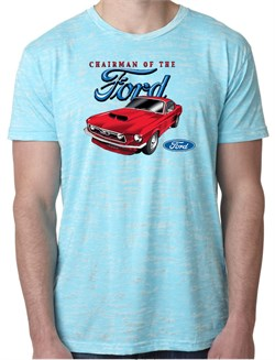 Image of Ford Mustang Shirts Chairman of the Ford Burnout Tee T-Shirt