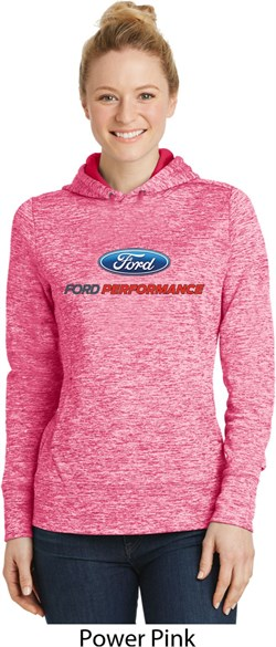 Ford Performance Parts Ladies Moisture Wicking Hoodie