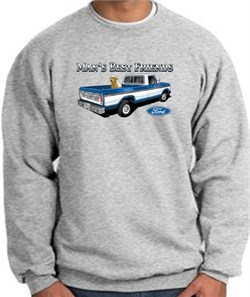 Image of Ford Trucks Sweatshirt Mans Best Friend Athletic Heather Sweat Shirt