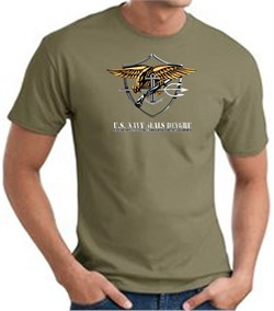 U.S. Navy Seals T-Shirts? Devgru Adult Army Green