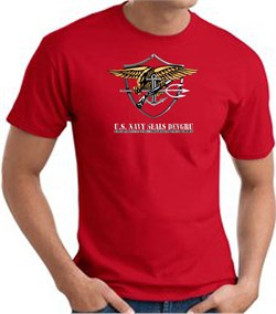 U.S. Navy Seals T-Shirts? Devgru Adult Red