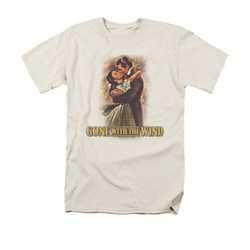 Gone With The Wind Shirt Embrace Adult Cream Tee T-Shirt