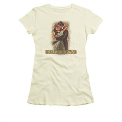 Gone With The Wind Shirt Juniors Embrace Cream Tee T-Shirt