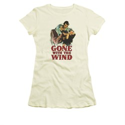 Gone With The Wind Shirt Juniors My Hero Cream Tee T-Shirt