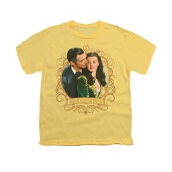 Gone With The Wind Shirt Kids Gone Scrolling Banana Youth Tee T-Shirt
